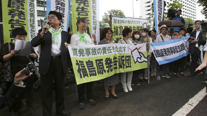 Japanese Court Orders Payments To Plaintiffs Over Fukushima Disaster : The Two-Way : NPR